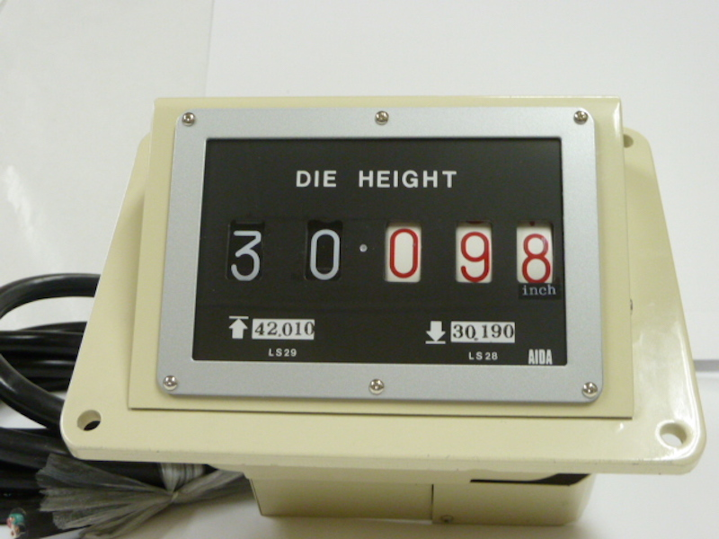 Manufacturer and Developer of Die Height Indicators /Special
